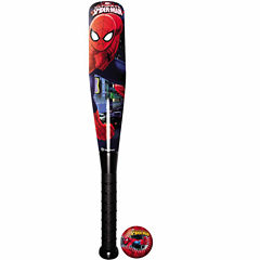13 In Foam Bat And Ball Set Spiderman 2-Pc. Playground Balls