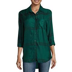 a.n.a Button Front Shirt