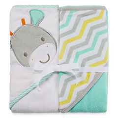 Okie Dokie Hooded Towel 2 Pack Set