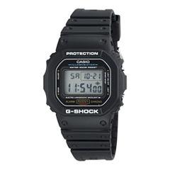 Casio® G-Shock Mens Black Resin Strap Sport Watch DW5600E-1V