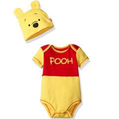 Disney Short Sleeve Winnie the Pooh Romper - Baby
