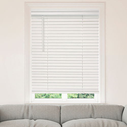 JCPenney Home™ Cut-to-Width 2 Cordless Faux-Wood Horizontal Blinds