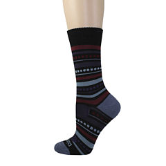 Dickies® Womens Wool-Blend Striped Crew Socks