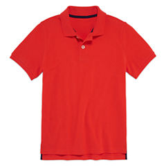 Arizona Short Sleeve Polo Shirt - Big Kid Boys