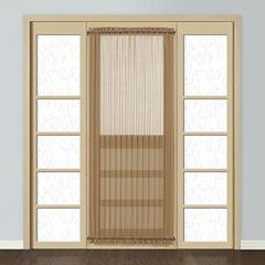 United Curtain Co. Montecarlo Rod-Pocket Door Panel Curtain