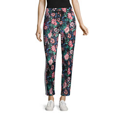 Project Runway Floral Track Pants