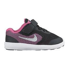 Nike® Revolution 3 Girls Running Shoes - Toddler