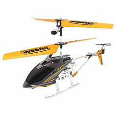 Webrc Iron Eagle Helicopter - Yellow