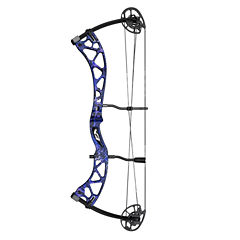 Martin Carbon Mist Compound Bow Rt Hand Package-50lb-Purple