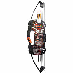 Barnett Banshee Archery Set 25lb 24-26in Draw Black 1075