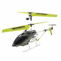Webrc Iron Eagle Helicopter - Green