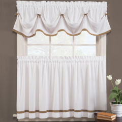 Bathroom Curtains kitchen curtains & bathroom curtains - jcpenney
