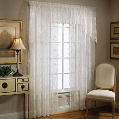 Petite Fleur Rod-Pocket Window Treatments