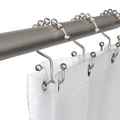 Maytex Mills Double Ball Glilde Shower Curtain Hooks