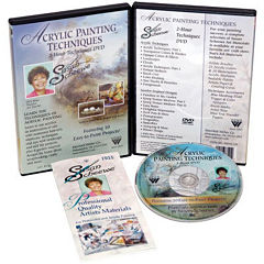 2-Hour Painting DVD  - Acrylic Techniques