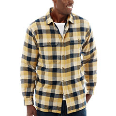 Stanley® Cotton Flannel Button-Front Shirt