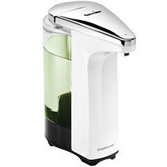 simplehuman® 8 Ounce White Sensor Pump Soap Dispenser