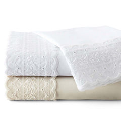 JCPenney Home™ 300tc Easy Care Lace Sheet Set