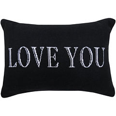 Park B. Smith® Love You Writing Decorative Pillow