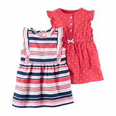 Carter's Girl 2-pk. Sleeveless Rompers - Baby