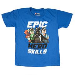 Justice League Graphic T-Shirt-Preschool Boys