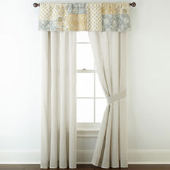Home Expressions™ Isabel 2-Pack Rod-Pocket Curtain Panels