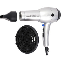 Revlon® 1875W Tourmaline Ionic Silver Hair Dryer