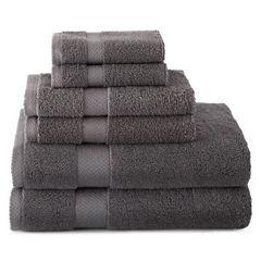JCPenney Home™ 6-pc. Bath Towel Set