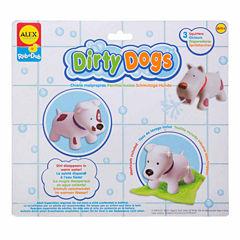 ALEX TOYS Rub A Dub Dirty Dogs 4-pc. Toy Playset - Unisex
