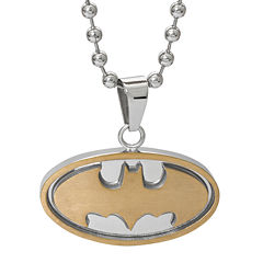 DC Comics® Stainless Steel Batman Pendant