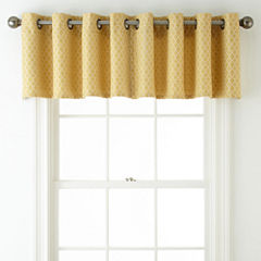 JCPenney Home™ Rory Grommet-Top Tailored Valance