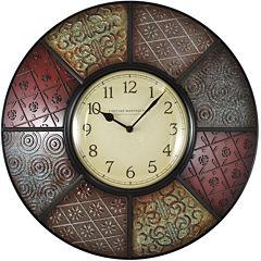 FirsTime® Patchwork Wall Clock