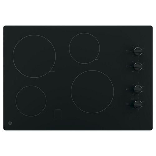 GE® 30 Built-In Knob Control Electric Cooktop With 4 Elements