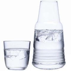 Luigi Bormioli Michelangelo Bedside Water Glass Set