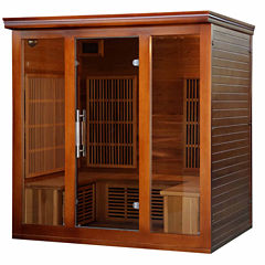 Radiant Saunas 4 to 5 Person Cedar Elite Premium Sauna