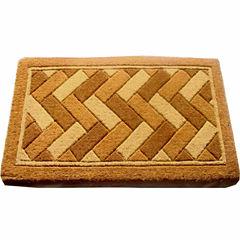 Geometric Rectangular Doormat