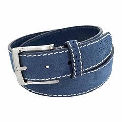 Florsheim 34 Mm Suede Leather Belt