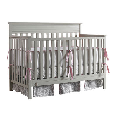 fisherprice newbury convertible crib misty grey