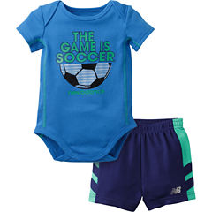 New Balance 2-pc. Bodysuit Set-Baby Boys