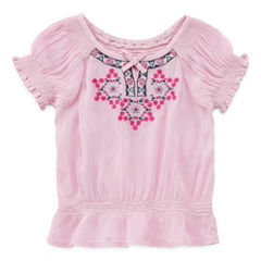 Arizona Short Sleeve T-Shirt-Baby Girls