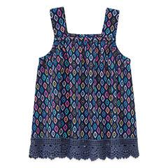 Arizona Girl Crochet Tank Top - Baby Girls
