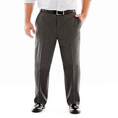 JF J. Ferrar® Stretch Gabardine Suit Pants–Big & Tall