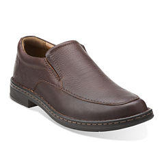 Clarks® Kyros Free Mens Leather Loafers