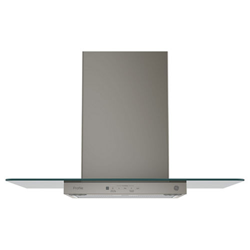 GE Profile™ Wall-Mount Chimney Range Hood With Glass Canopy
