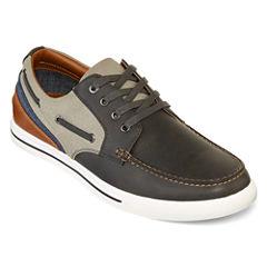 JF J.Ferrar Somerset Mens Boat Shoes