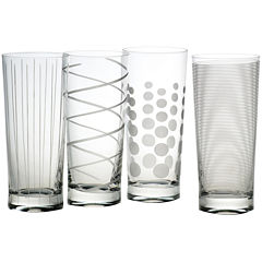 Mikasa® Cheers Set of 4 Highball Glassses