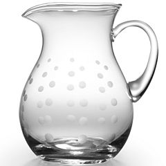 Mikasa® Cheers 54-oz. Glass Pitcher with Metal Tongs