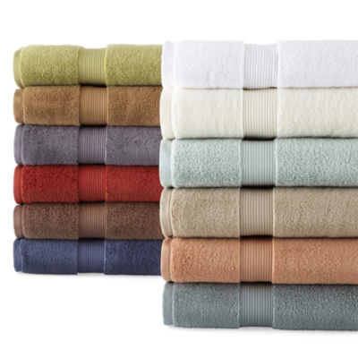 royal velvet signature soft solid bath towels - Royal Velvet Sheets