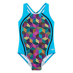 Speedo One Piece Swimsuit Big Kid Girls