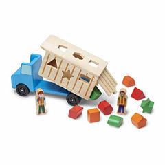 Melissa & Doug® Shape-Sorting Dump Truck